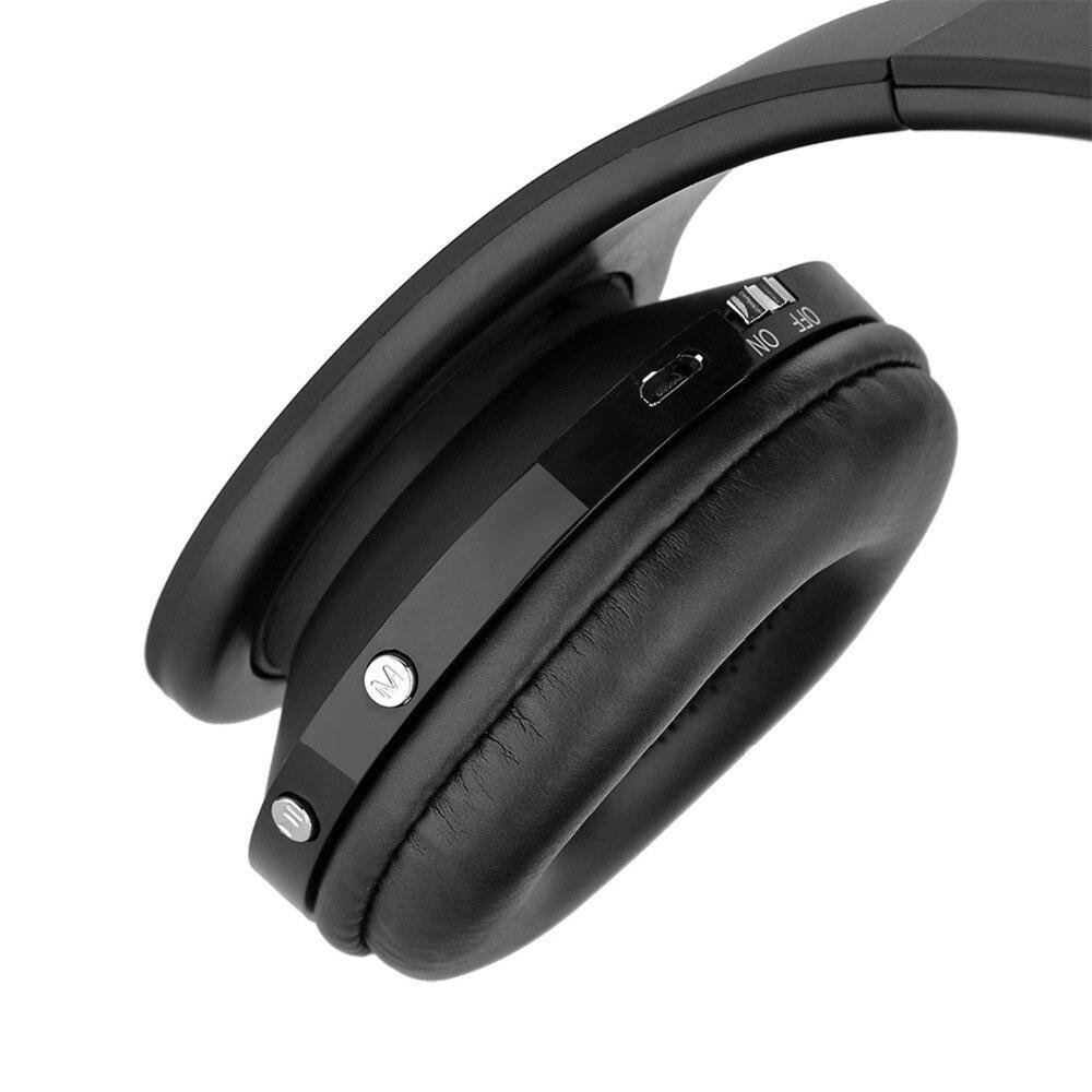 Cuffie senza fili bluetooth Noise Cancelling Auricolare Stereo Pieghevole  PC con microfono Auricolare Lettore Mp3 per Samsung Galaxy in Cuffie senza  fili ... a6010d9f9d39