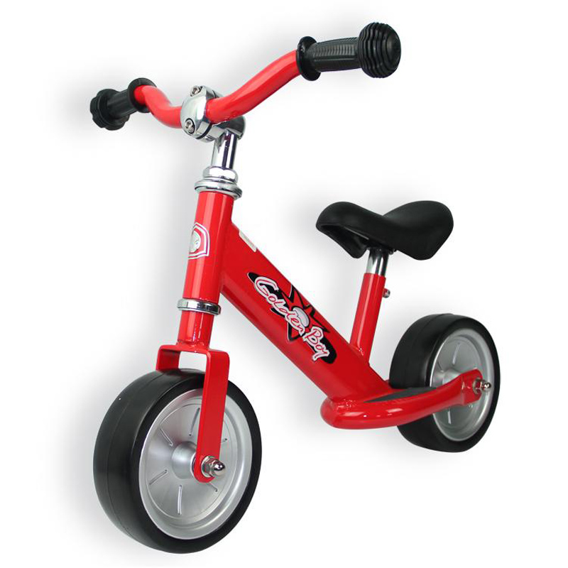 High Quality Gold Boy Steel Frame 7 Inch Baby Balance Bike With EVA Wheel 4 color for available mp620 mp622 mp625 projector color wheel mp620 mp622 mp625