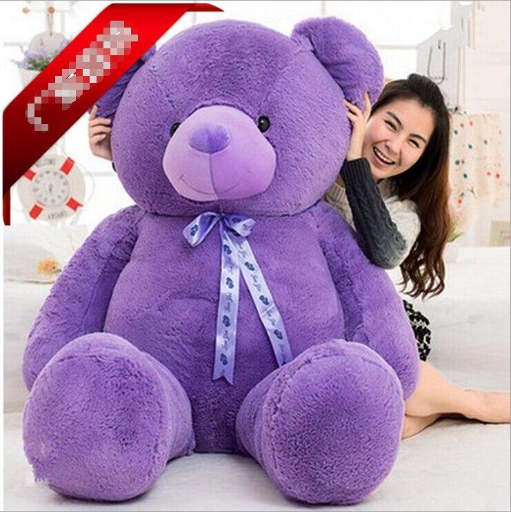 66d4afdd768 180cm Giant Teddy Bear Stuffed Purple Big Embrace Doll Girl s Gift Baby Toy  Life Size Teddy Bear 2015 New Arrival on Aliexpress.com