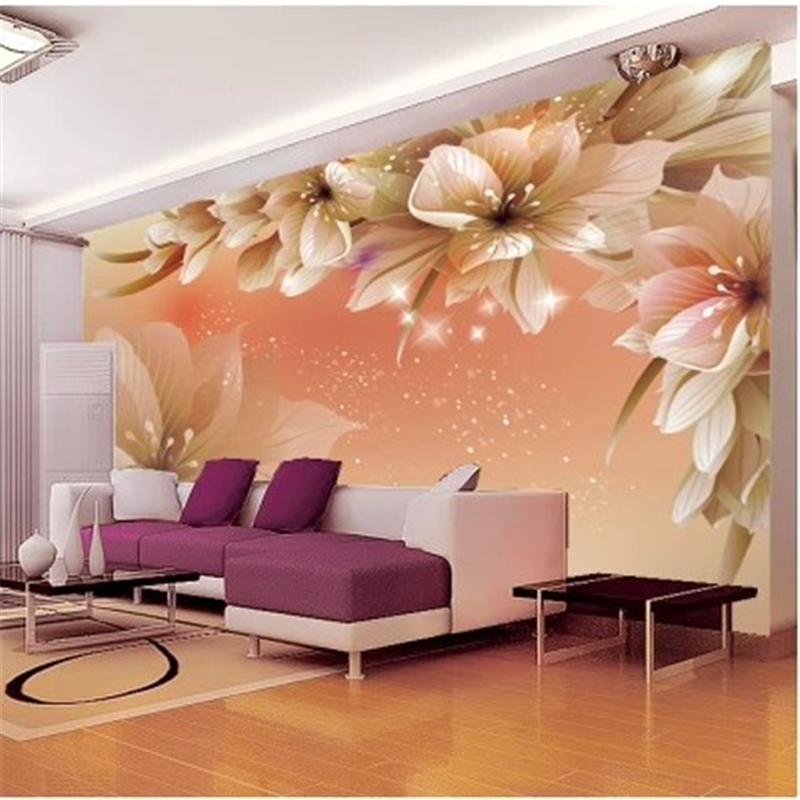 Beibehang Custom Wallpaper Home Decor Living Room Bedroom: Beibehang Custom Photo Wallpaper Living Room Large 3D Cozy