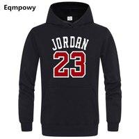 2018 Brand JORDAN 23 Men Sportswear Fashion Brand Print Mens Hoodies Pullover Hip Hop Mens Tracksuit