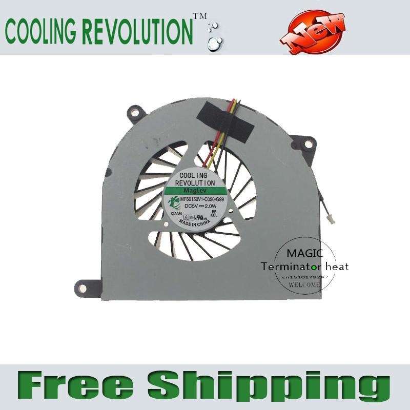 Prix pour RÉVOLUTION DE REFROIDISSEMENT CPU de refroidissement ventilateur pour MSI CR70 MS-1755 MS-1751 MS-1753 FR700 FX720 CR70-0M-007FR MF60150V1-C020-G99