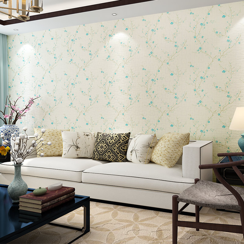 Chinese Wall Mural Modern Art High Quality Plum Blossom Wallpapers