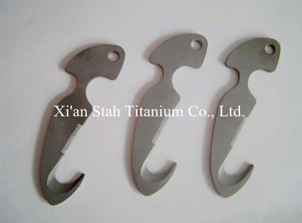 Titanium Ti alloy Diving font b Knife b font Line Cutter Dive font b Knives b