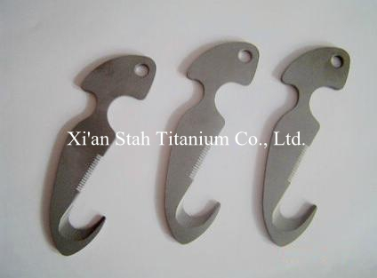 Титан ti сплава Дайвинг Ножи линия резак погружения Ножи для шашлыков нержавеющие антикоррозионные 180 г/шт.