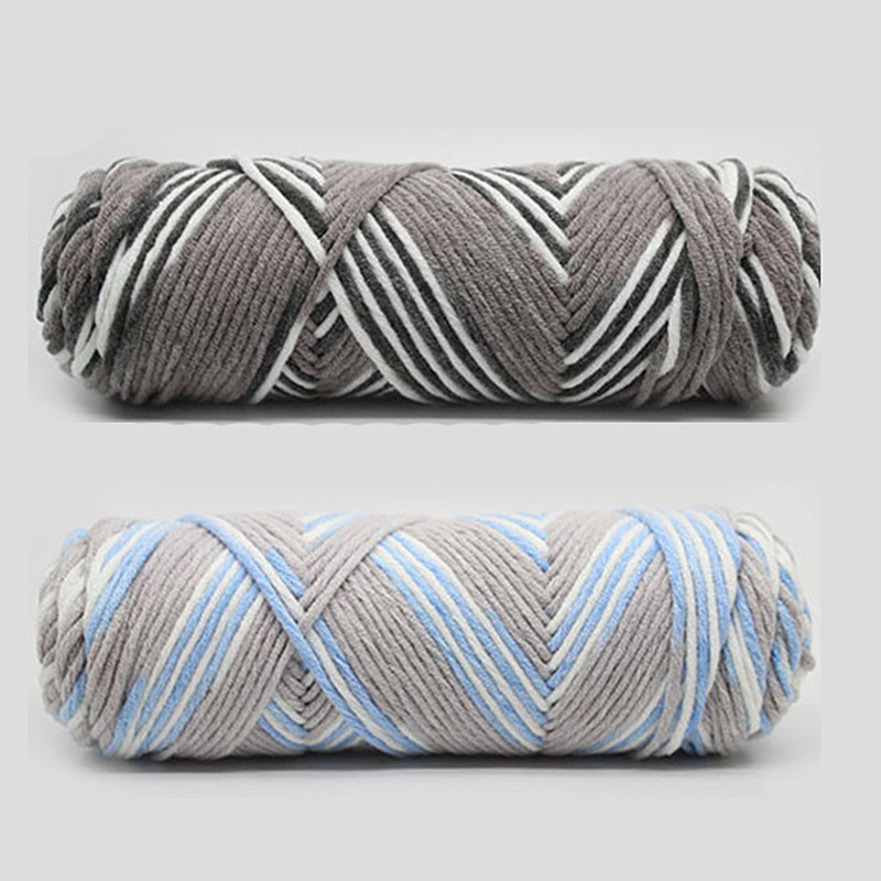 1Pc=100g Natural Soft Milk Cotton Yarn Thick Yarn For Knitting Lover Scarves Knitting Wool Crochet Yarn Weave Thread