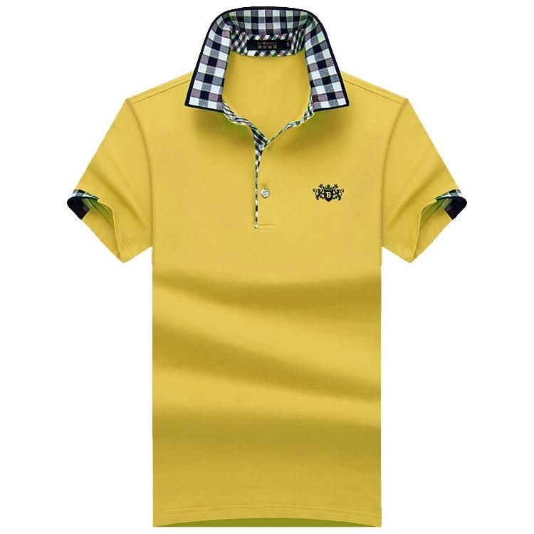 큰 남자 셔츠 2018 패션 남자 폴로 셔츠 여름 짧은 - 남성 의류 - 사진 3