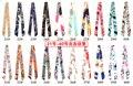 Lenços atacado de Alta Qualidade Senhora Lenço de Seda Twilly Sacos de Lidar Com Echarpes Lenços Impresso Faixa de Cabelo Pequena Fita Bandeaus