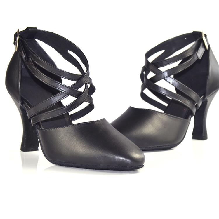 Nuevo 2019 Zapato de mujer en zapatos de baile de cuero Zapato de - Zapatillas - foto 4