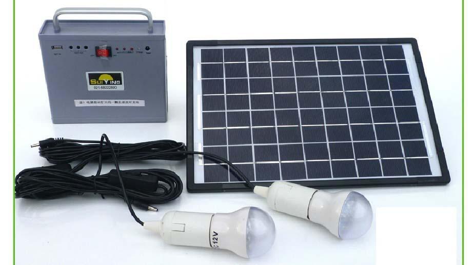 10w Alternative Energy Generator Home Solar Panels Small