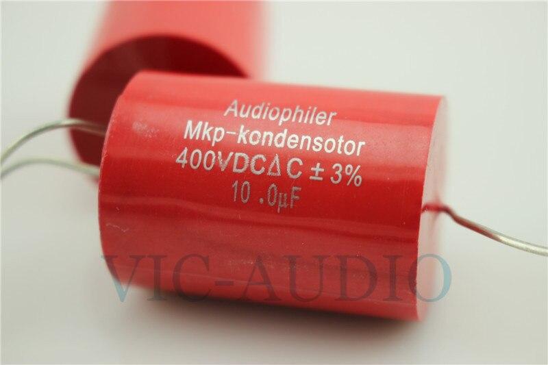 Wholesale 100PCS Audiophiler MKP Kondensotor 400VDC 10uf 3 Audio Capacitor 10 0UF Capacitance Free Shipping