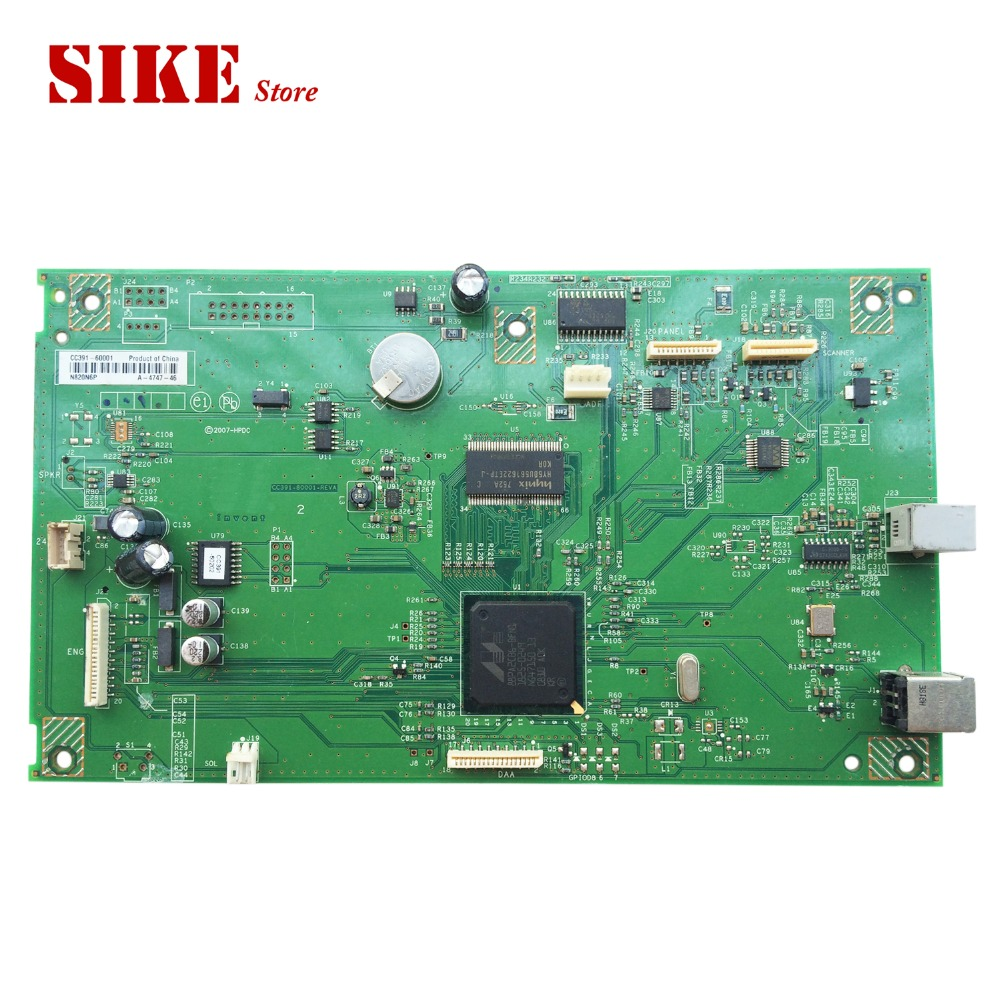 CC391-60001 Logic Main Board Use For HP M1319f 1319f 1319 M1319 Formatter Board Mainboard q1857 60001 logic main board use for hp laserjet 5100 hp5100 formatter board mainboard