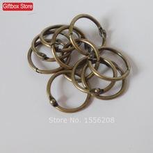 10 шт/лот 25 мм винтажные бронзовые цветные пряжки свободное
