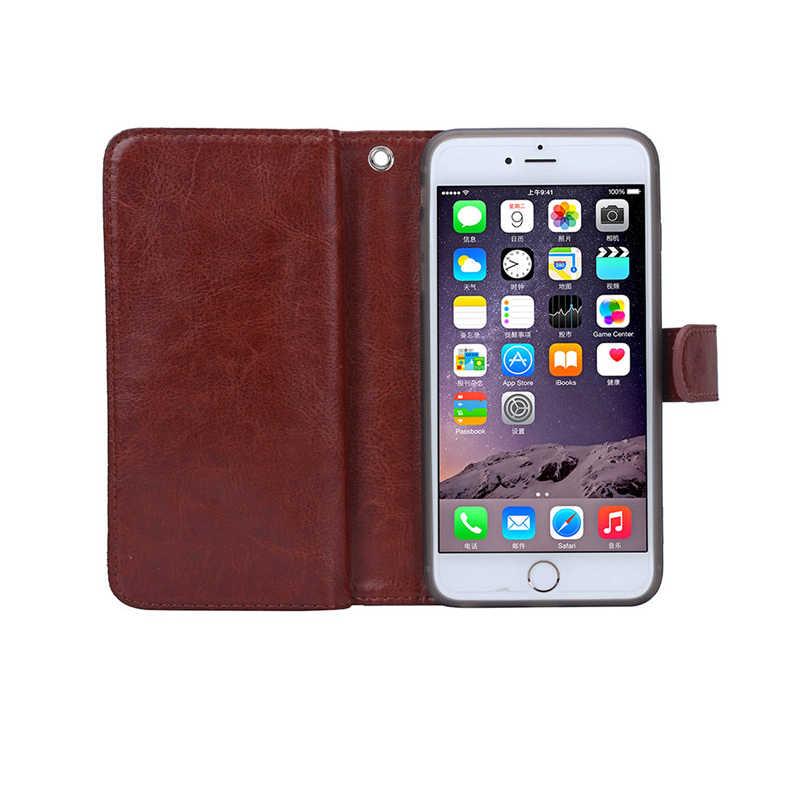 עבור iphone 6 6 S 6 S בתוספת מקרה יוקרה ארנק עור Flip כיסוי עבור iphone 6 2 ב 1 טלפון קאפה coque עם כרטיסי חריצים מחזיק מעמד