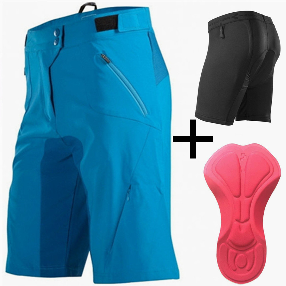 Men's Cube Bike Shorts with Cycling Underwear and 3D Gel Pad