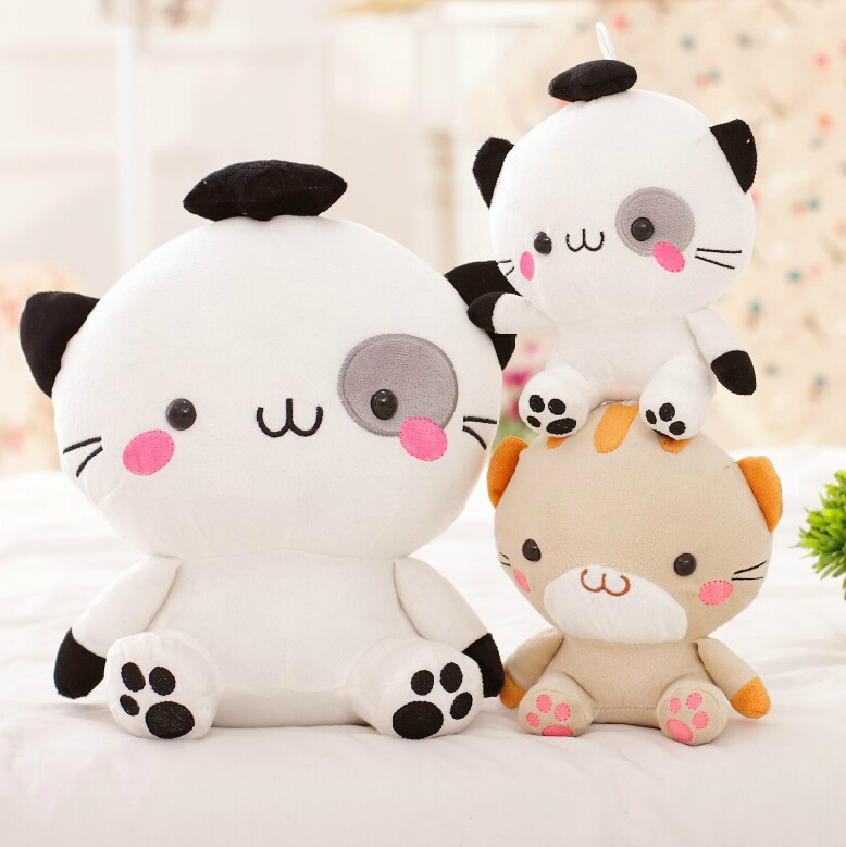 9''23cm Cute Sushi Cat Plush Toy Doll Staffed Animal big face kitty cat Toy Doll Very Lovely Gift for Kids new lovely dinosaur plush toy staffed dinosaur doll for kids creative cartoon animal doll christmas git