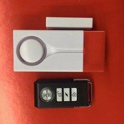 Bezprzewodowy czujnik drgań Meganetic Alarm z dźwiękiem i światłem drzwi skontaktuj się z