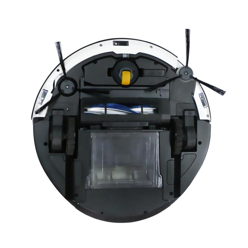 Robotic-vacuum-cleaner-CLEANMATE-QQ9-black-3D-map-navigation-memory-function-with-camera-dry-wet-mop