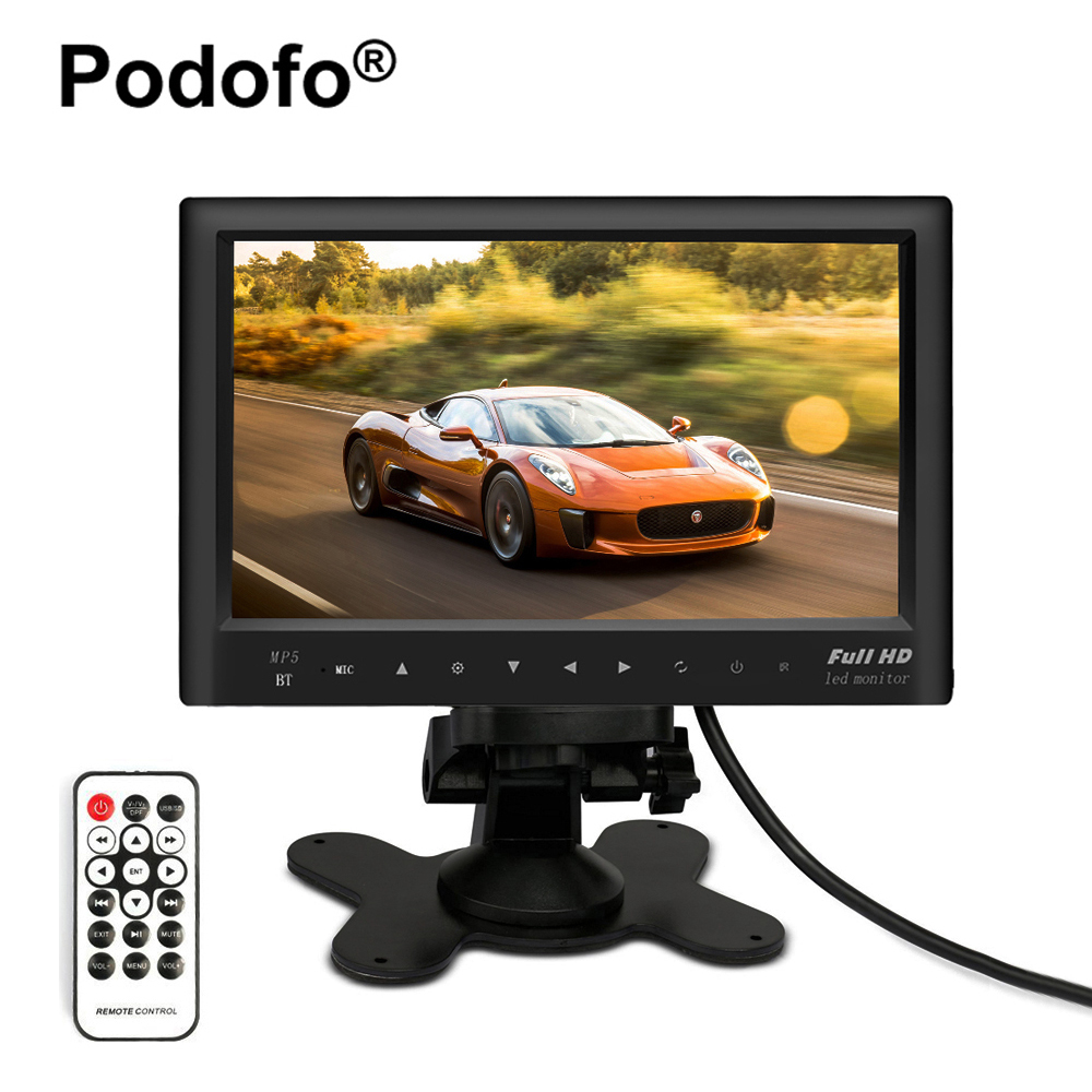 7 inch LCD HD Parking Dashboard Display Screen Rear View font b Monitor b font with