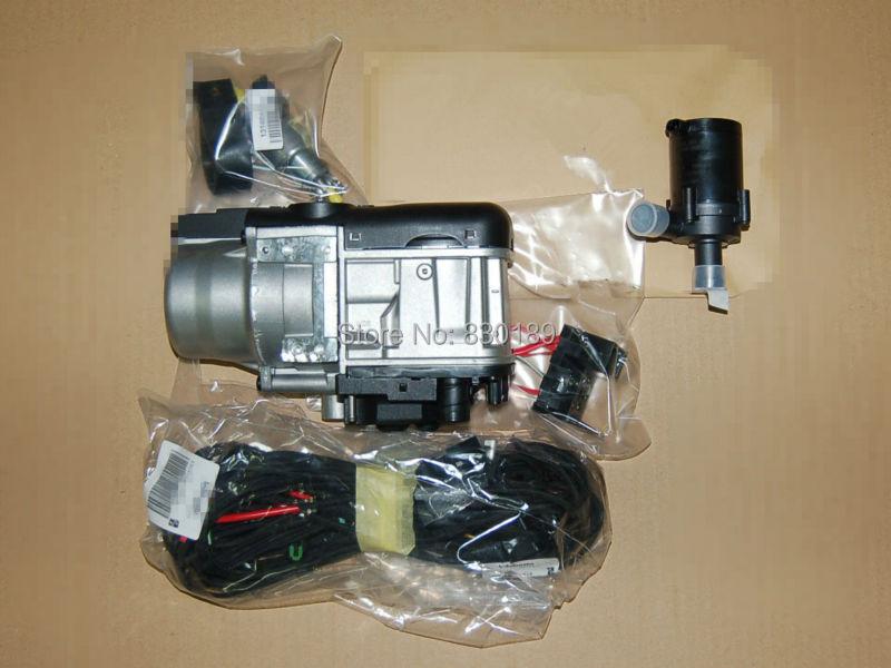 Teléfono Gsm Control remoto + (5KW 12V) calentador de líquido de agua para diesel / motor de gas de camión de camión furgoneta autobús! Calentador de agua tipo webasto!