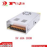 DC 5V 60A 300W Switching Power Supply Transformer For LED Strip Light Display 110V 220V