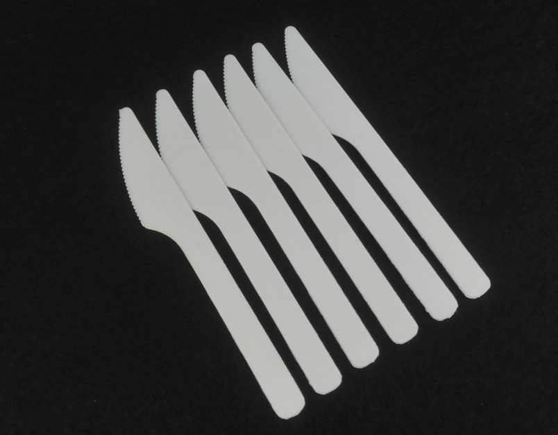 Eco-friendly knife Disposable Corn starch cutlery starch knives Tableware Cutlery 10 pcs/lot