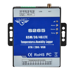 GPRS Data logger GSM 3G 4G LTE Cellular Telemetry Temperature Humidity Monitoring System with 8 TH 2 DO S265