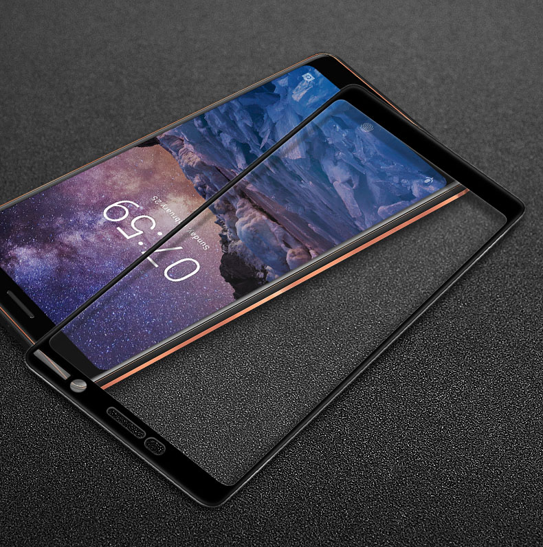 For Nokia 7 Plus Tempered Glass Screen Protector Imak Pro+ Version Full Coverage Tempered Glass Protective Film For Nokia 7 PlusFor Nokia 7 Plus Tempered Glass Screen Protector Imak Pro+ Version Full Coverage Tempered Glass Protective Film For Nokia 7 Plus
