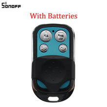 Sonoff 433MHz 4 Channel RF Remote Controller ABCD 4 Buttons for Sonoff RF Slampher 4CH Pro R2 T1 Electric Remote Key Fob Control