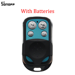 Image 1 - Sonoff 433MHz 4 Channel RF Remote Controller ABCD 4 Buttons for Sonoff RF Slampher 4CH Pro R2 T1 Electric Remote Key Fob Control