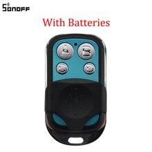 Sonoff 433MHz 4 kanal RF uzaktan kumanda ABCD 4 düğmeler Sonoff RF Slampher 4CH Pro R2 T1 elektrikli uzaktan anahtar Fob kontrolü