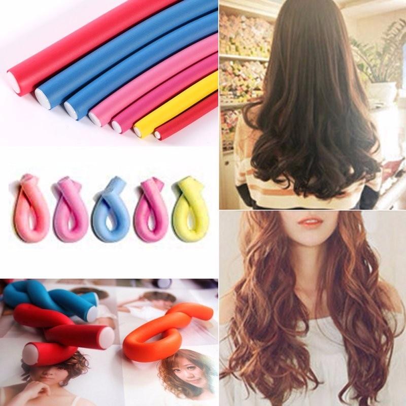 FlexiRoll Heatless Hair Curler
