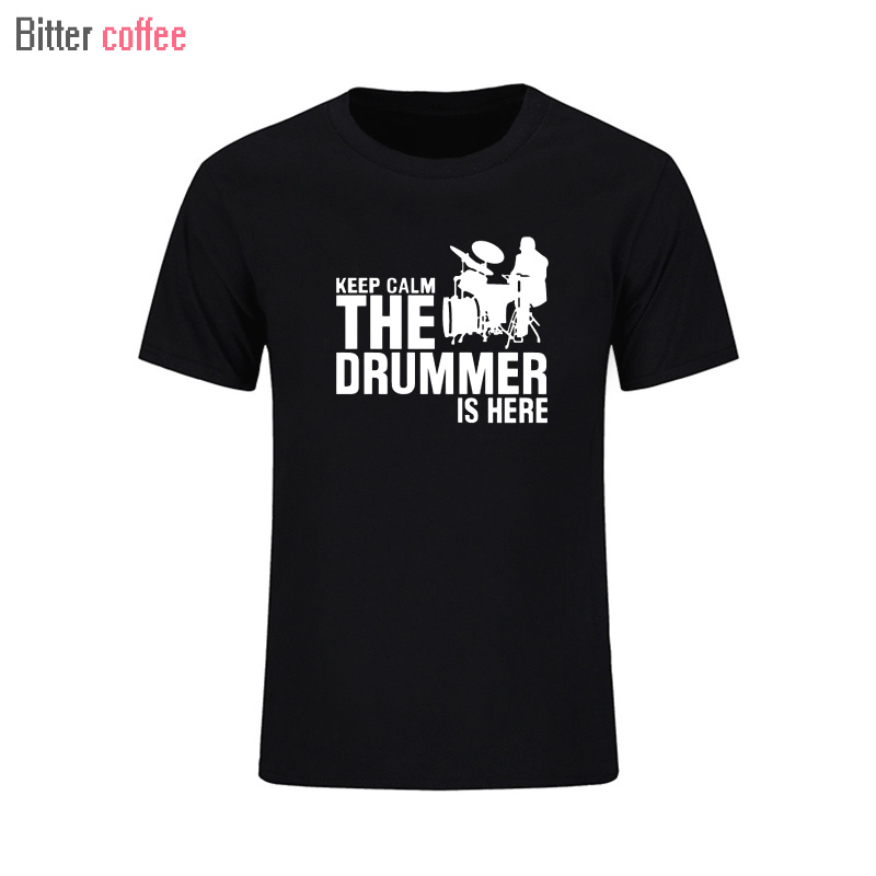 Summer New A drummer and drums Cotton Man T-shirts Korte mouw Casual - Herenkleding - Foto 3