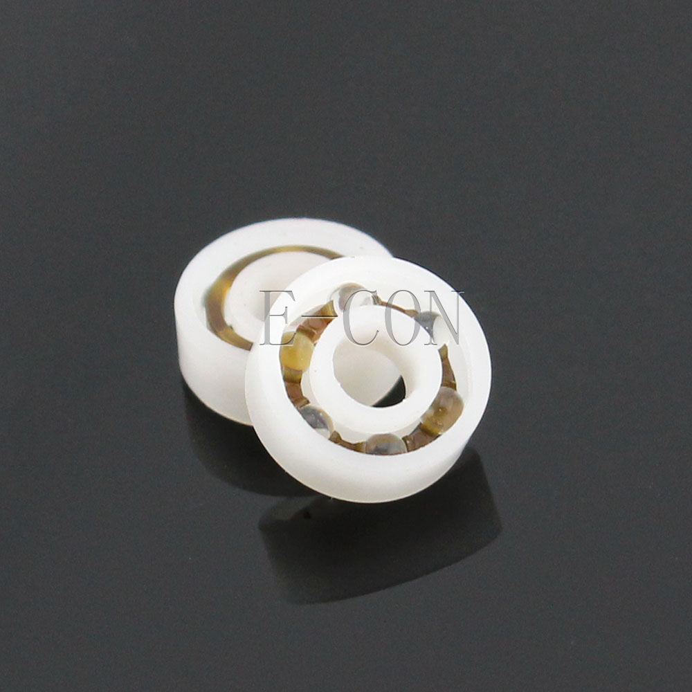 1/2/5/10 PCS Plastic Bearing POM 623 Glass Balls 3x10x4 Ball Bearings
