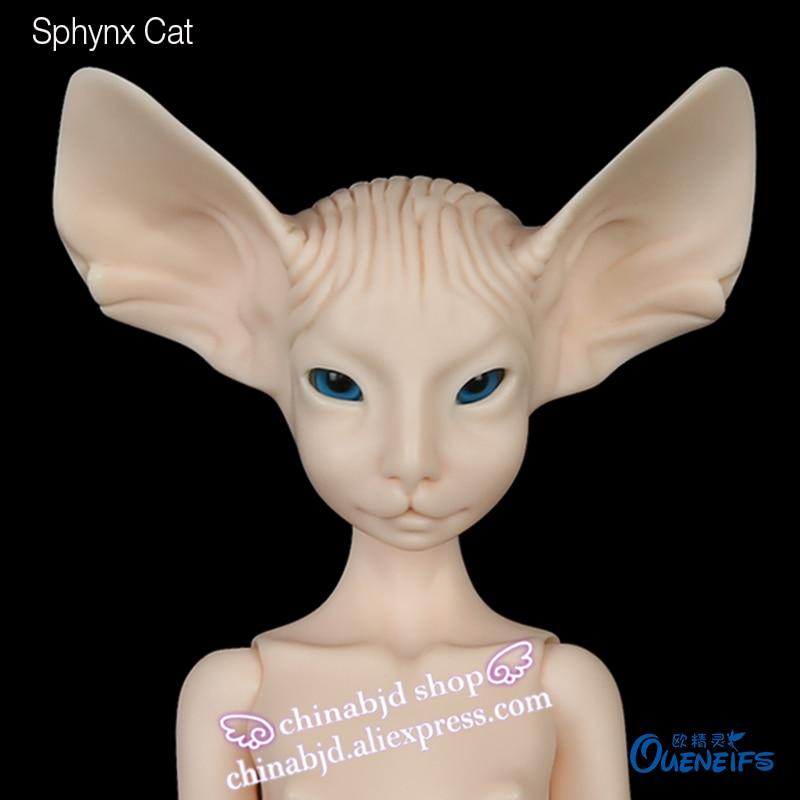 Envío Gratis muñeca BJD Sphynx gato Lillycat Constantin NobleA Radicelle único bonito figura juguetes para niños muñecas de resina luodoll-in Muñecas from Juguetes y pasatiempos    1