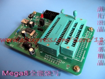 AVR High Voltage Programmer, Mega8 Series Special, Support Mega168328, AVR Parallel Programming