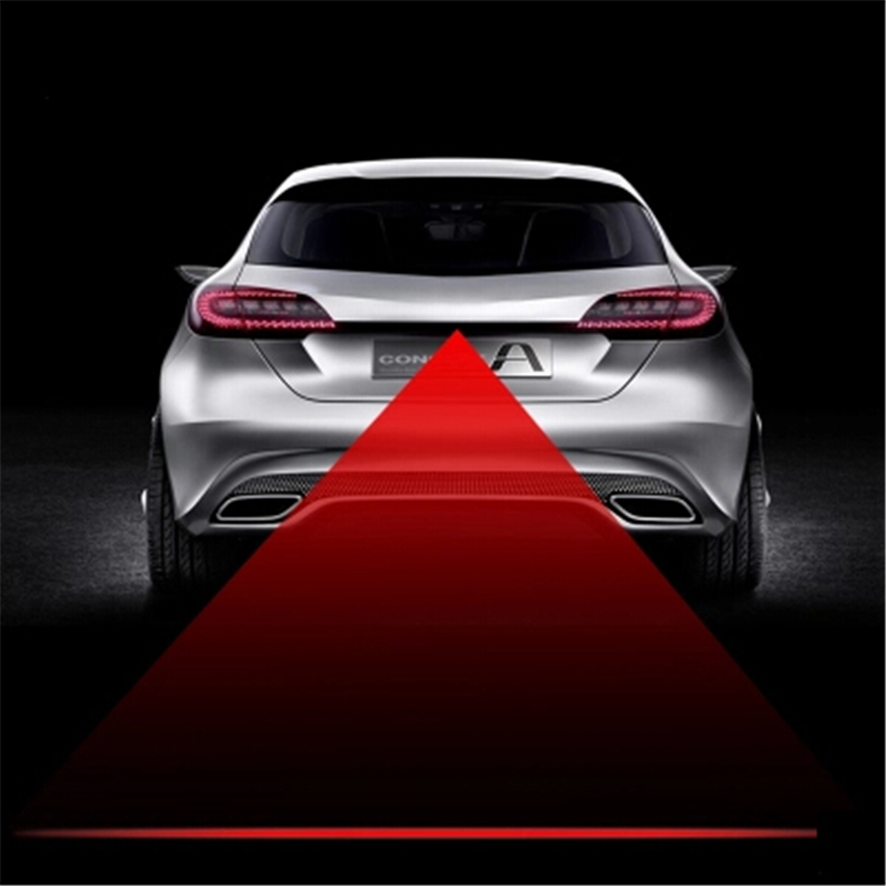 Auto Styling Staart Laser Mistlamp Veiligheidswaarschuwing Verlichting Voor Chevrolet Volt Epica Malibu Camaro Kobalt Orlando Spark Sail Duidelijk Effect