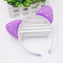 Cute Shiny Sequins Cat Ears Headband