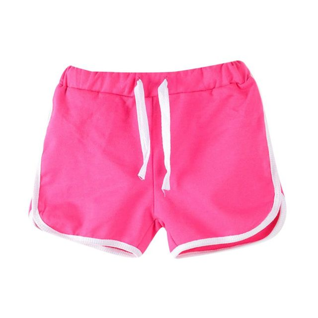 Summer Boys Beach Pants Shorts Kids Trousers Children Pants Candy Color Girls Shorts