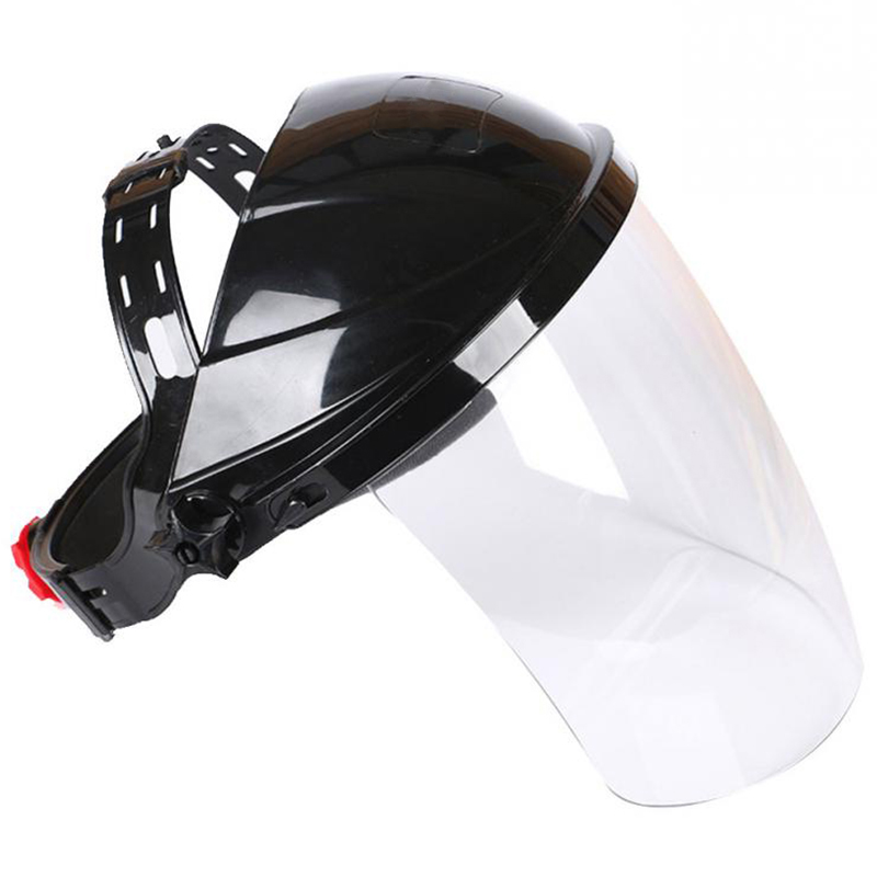 Transparent Welding Tool Welders Headset Wear Protection Masks Auto Darkening Welding Helmets/Face Mask/Electric Welding Mask(China)