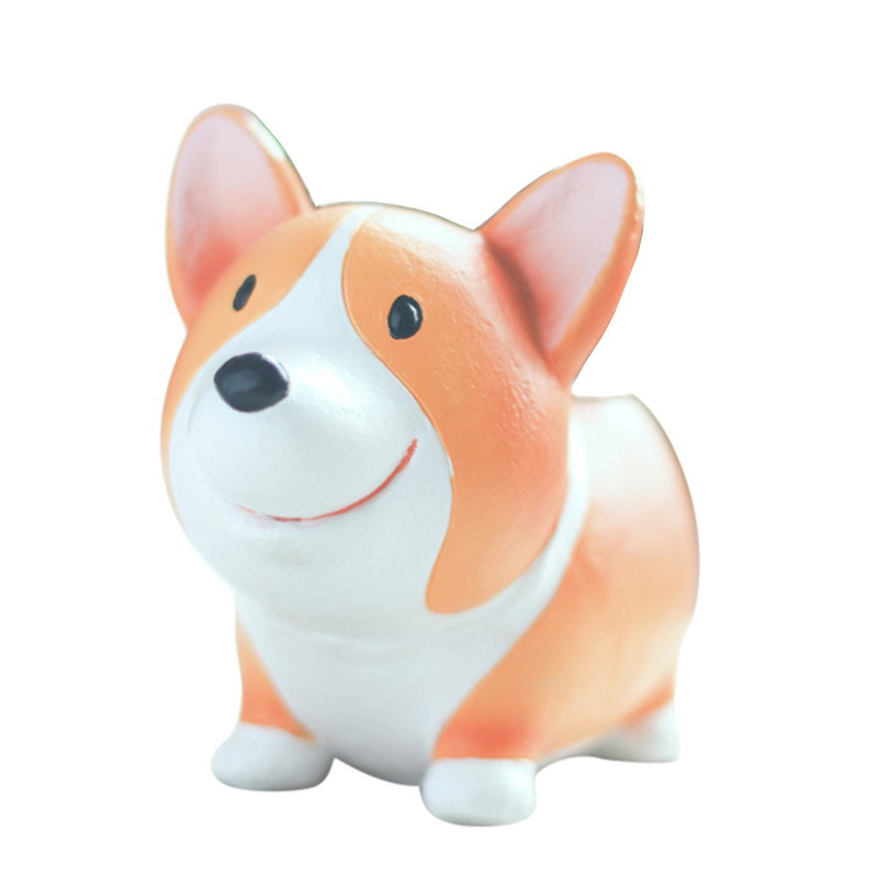 Image 2 - Lovely Corgi Dog Shaped Plant Decor Succulent Plants Decorative Flower Pot garden small planter succulent guardian-in Flower Pots & Planters from Home & Garden