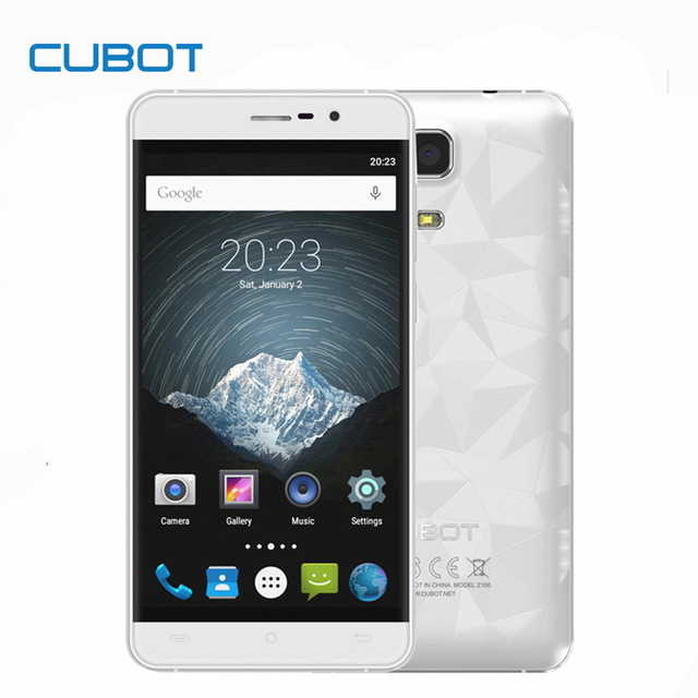 CUBOT Z100 Pro MTK6735M Quad Core Android 5.1 Smartphone 5.0 Inch HD Screen Cell Phone 3GB RAM 16GB ROM Mobile Phone