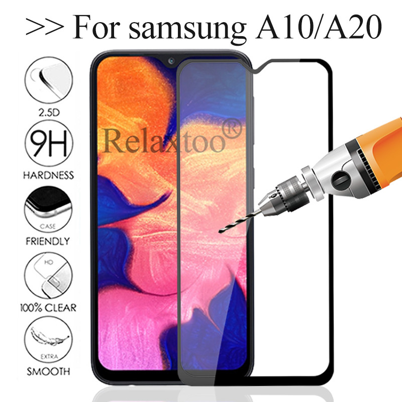 Safety Glass For Samsung A10 Protective Glass On The For Samsung Galaxy A20 Tempered Glas Sumsung A 10 20 10a 20a A105 A205 Film