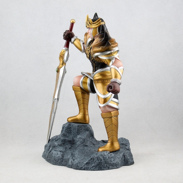 "8""Game League of Legends Jarvan IV the Exemplar of Demacia Action Figure Toy Doll Brinquedos Figurals Collection LOL Model Gift 1"