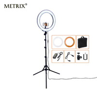 METRIX RL 18 55W 5500K 240 LED Photographic Lighting Dimmable Camera Photo Studio Phone Photography Ring