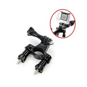 Image 4 - SnowHu pour Gopro accessoires vélo moto guidon tige de selle montage sur poteau trépied pour Go pro Hero 9 8 7 6 5 4 caméra yi GP01