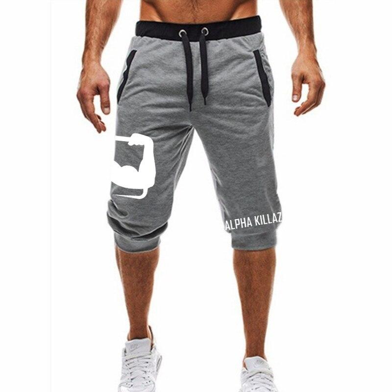 New Summer Men's Pocket Sports Shorts Men's Black Gray Shorts Men's Fitness Shorts Men's Youth Sports Harem Pants Large Size