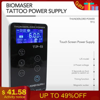 Tattoo Power Supply Tatuagem For Tattoo Machines Touch Screen Source TP 5 Digital LCD Makeup Dual Tattoo Power Supplies