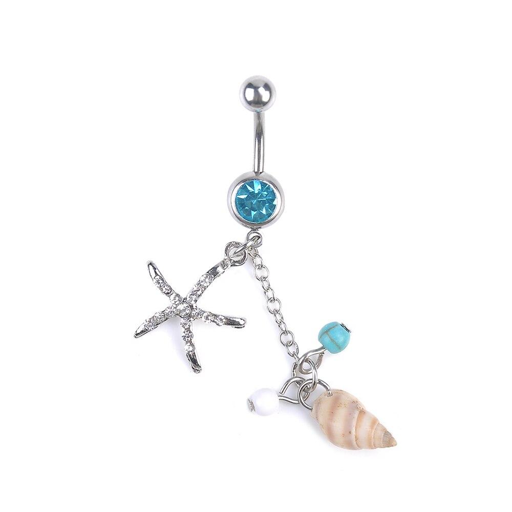 Uhren & Schmuck GüNstig Einkaufen Opal Tropfen Edelstein Lang Stahl Bauchnabel Nabel Barbell Ringe Gute QualitäT