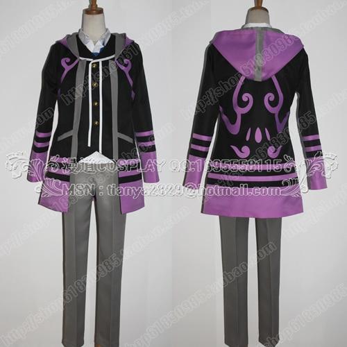 New High quality Kamigami no Asobi Itazura Loki Laevatein cosplay costume